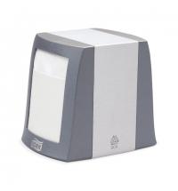 фото: Диспенсер для салфеток Tork Fastfold N2 271800, настольный, на 90шт, серый