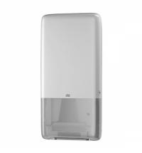 Диспенсер для полотенец листовых Tork PeakServe Н5, 552500-01, с непрерывной подачей, белый