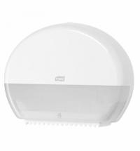 фото: Диспенсер для туалетной бумаги в рулонах Tork Elevation T2, 555000, мини, белый