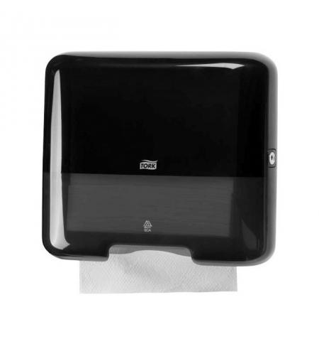 фото: Диспенсер для полотенец листовых Tork Elevation H3, 553108, мини, черный
