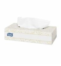 фото: Косметические салфетки Tork Premium F1 V32, листовые, 200шт, 2 слоя, белые