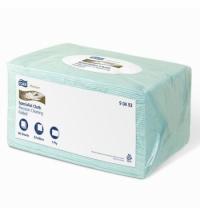 Протирочный материал Tork Premium W4 90493 голубой, 60 листов, 1 слой