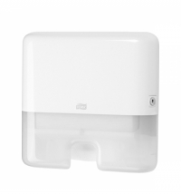 Диспенсер для полотенец листовых Tork Elevation H2 552100, мини, белый
