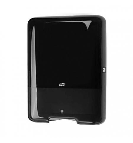 фото: Диспенсер для полотенец листовых Tork Elevation H3 553008, черный