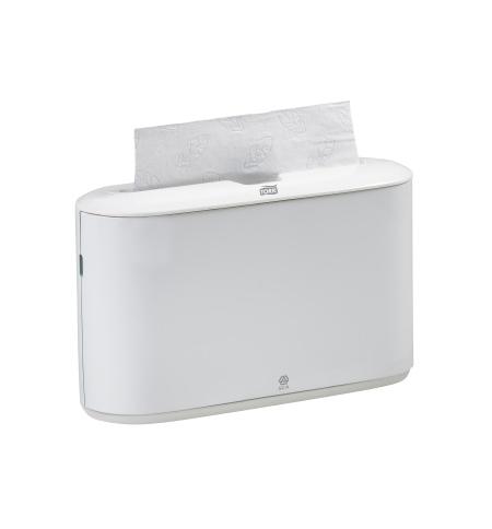 фото: Диспенсер для полотенец листовых Tork Elevation H2 552200, настольный, белый