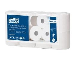 Туалетная бумага в рулонах Tork